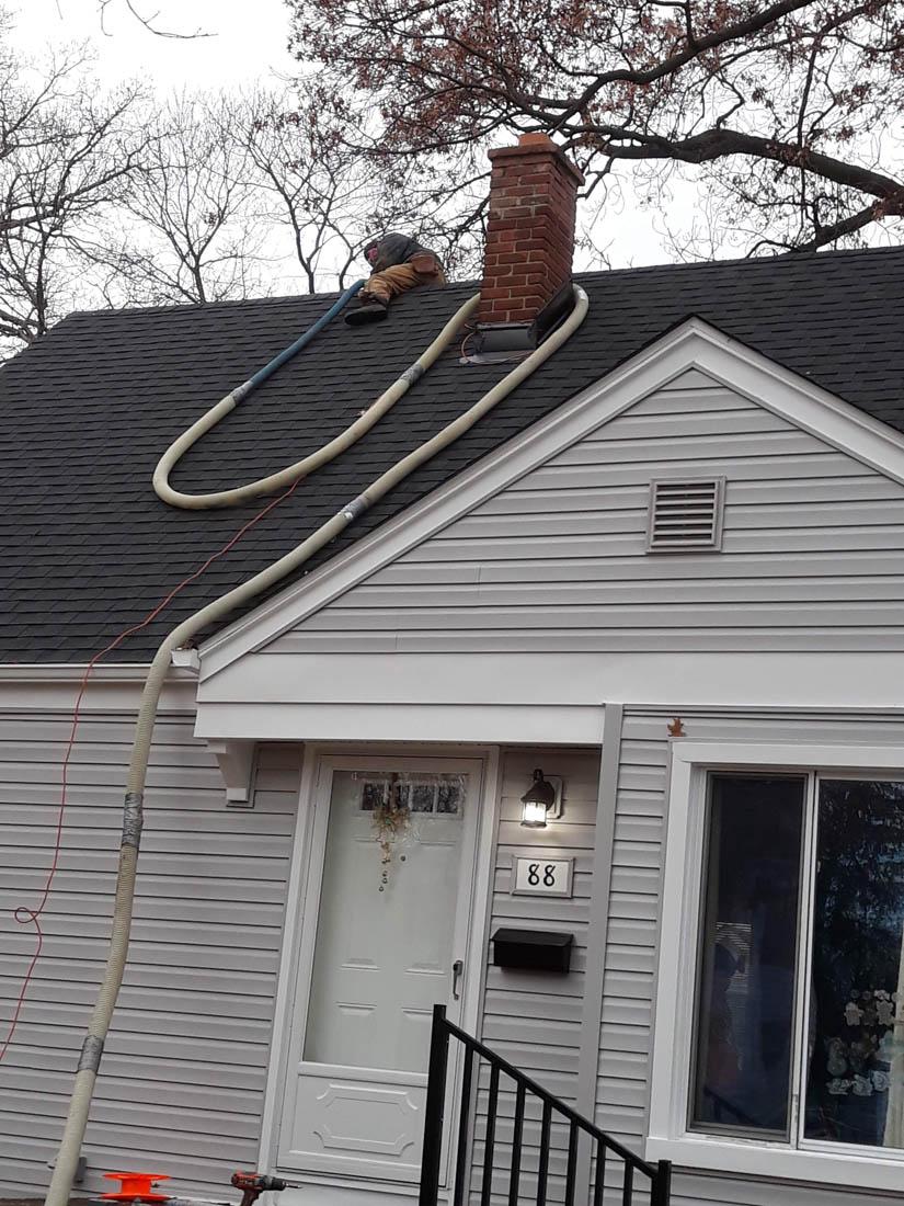 Blown Insulation Installation